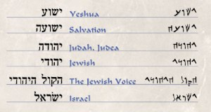 yeshua- callig-hebrew mod & 2nd temple era words