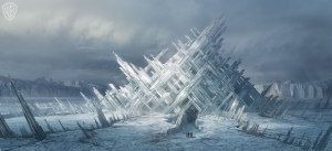 Superman's Fortress of Solitude - hint: my new place does NOT look like this