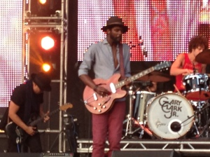 Gary Clark, Jr. was as good as advertised. There may be hope for American Blues Music yet.
