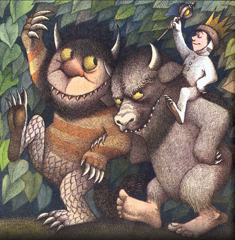 "The list includes children's literature and nonfiction as well. This picture from the adult nonfiction documentary: 'Wild Things of the Amazon  Jungle"" (not really...)"