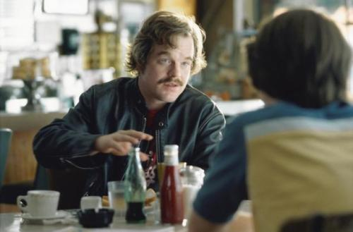 "Philip, as Lester Bangs, imparts curved wisdom in ""Almost Famous"""