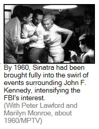 MaB-Sinatra, Monroe, Lawford, (Rudin)- WaPo story on the FBI checks on Sinatra-Mob-JFK connects